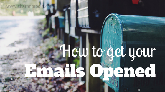 how to get your emails opened