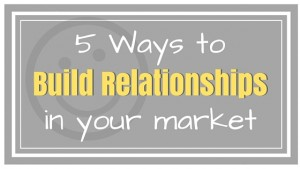 5 ways to build relationships