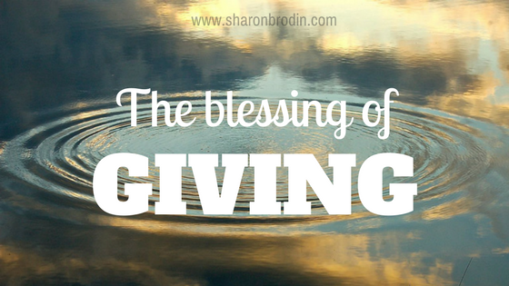 The blessing of giving