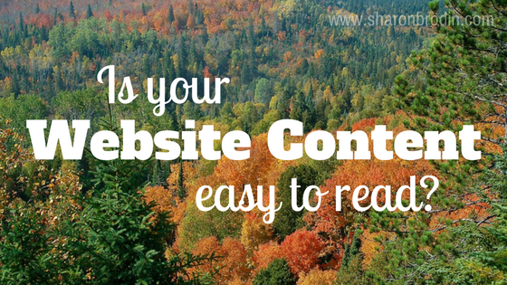 easy website content