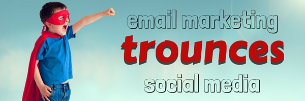 email marketing trounces social media