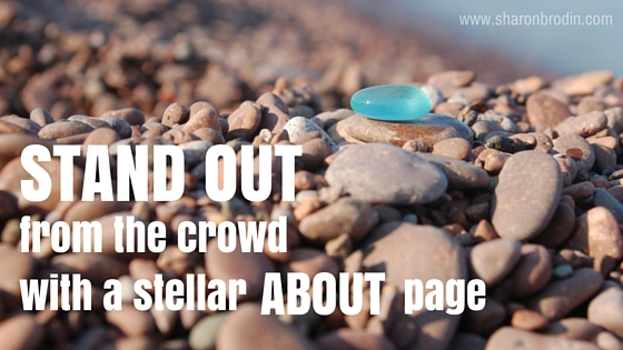 stand out with your about page