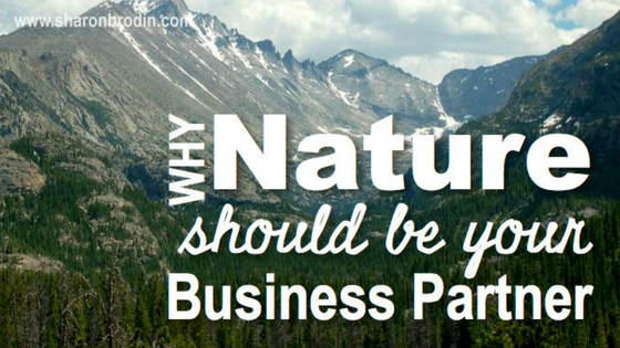 nature as business partner