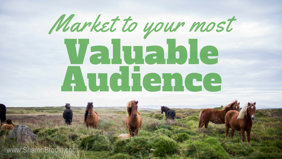 your most valuable audience