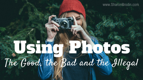 using photos in marketing