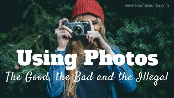 using photos in marketing