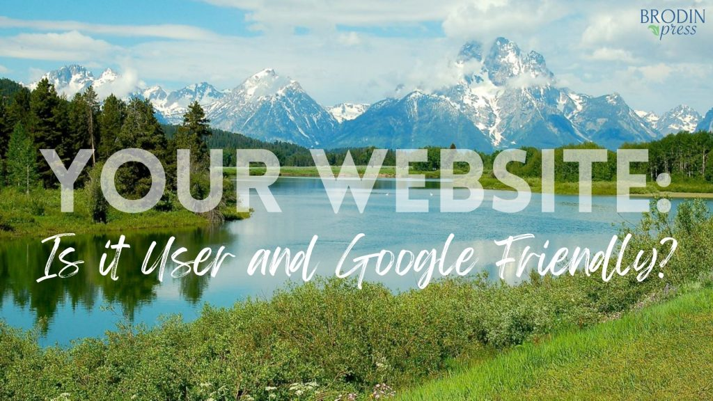Is your website both user and Google friendly? image