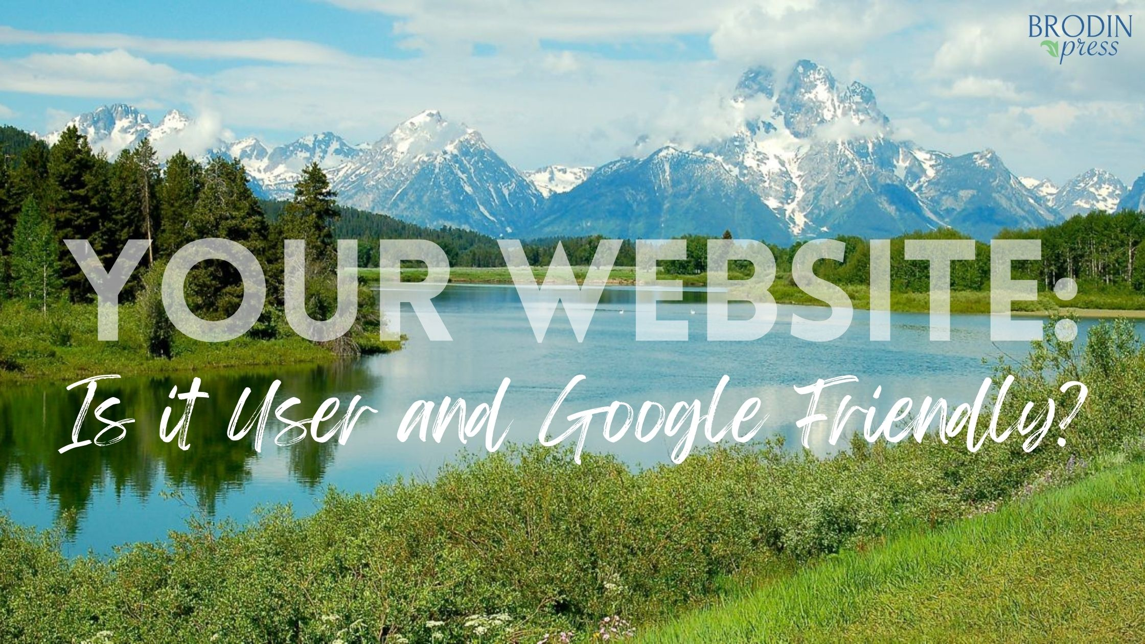 website user and google friendly